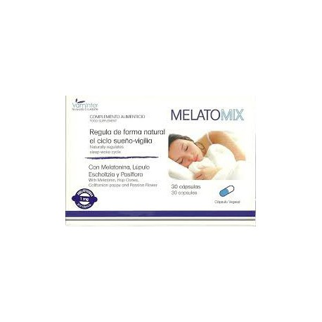 Melatomix. Vaminter. regulates sleep