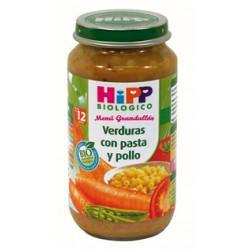 Биологическая Hipp Potito. Овощи с макаронами и курицей. Меню + 12мес.