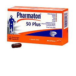Pharmaton 50 Plus 30 cápsulas.