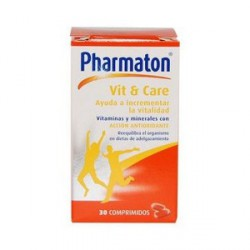 Pharmaton Vit & Care 30 comprimés.
