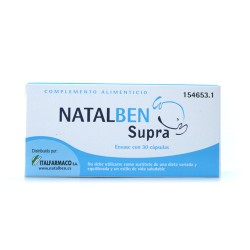 Natalben Supra. ácido fólico e vitaminas
