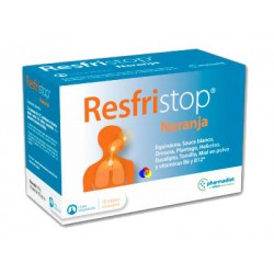 Laranja Refristop 10 envelopes. PHARMADIET.