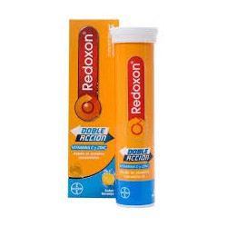 Redoxon doppia azione 15 compresse effervescenti. Bayer.
