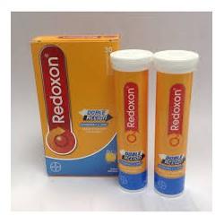 Redoxon doppia azione. Bayer.