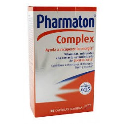 Pharmaton Complex 30 Softgels.