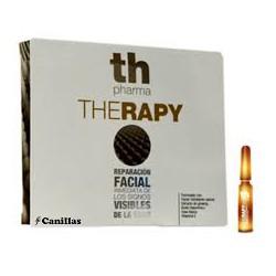 Immediati Ampolle di riparazione del viso. Th Pharma.