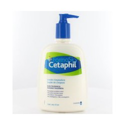 Cetaphil cleanser lotion.