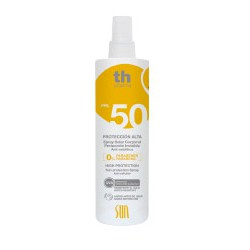 Th Pharma Solar Sunscreen SPF 50 Spray.
