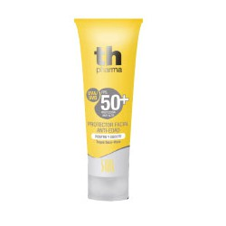Th Pharma Solar Sunscreen SPF 50+ face and neck.