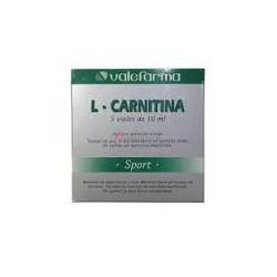 L-Carnitina 5 viales. Valefarma.