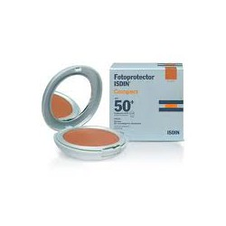 Maquillage sans huile compact 40. Fotoprotector Isdin Extrem.