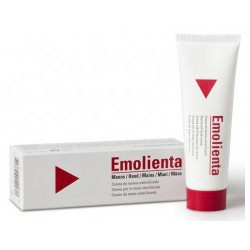 Emolienta hand cream.