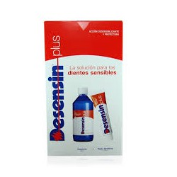 Desensin Pack Pasta Dental 125 ml + Colutorio 500 ml.