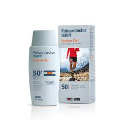 Fusion Isdin 50+ Sunscreen Gel100ml. Special Athletes