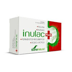 Inulac Plus tablets. Soria Natural.