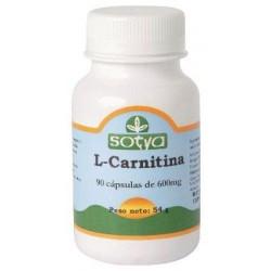 L-Carnitina 90 cápsulas. Sotya.