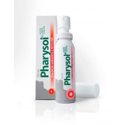 Pulvérisation Pharysol maux de gorge.