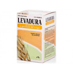 Lievito e germe di grano di Brewer. LEO.