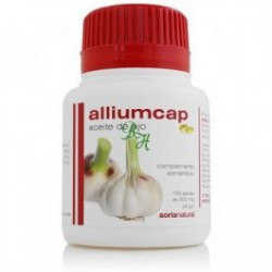 Alliumcap, l'huile d'ail. Soria Natural.