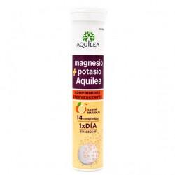 Aquilea Efervescente magnesio+potasio 14 comprimidos