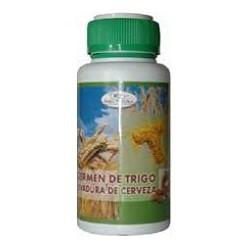 Le germe de blé et la levure de bière. Soria Natural.