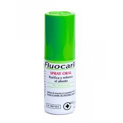 Fluocaril Oral Spray.