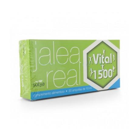 Sotya Jalea Real Vital 1500 20 Ampollas de 10ml+10 AMPOLLAS GRATIS