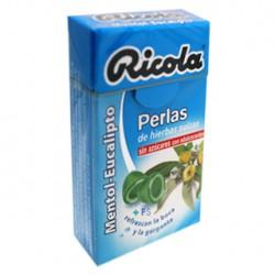 Ментол-Эвкалипт жемчужина сахара. Ricola.