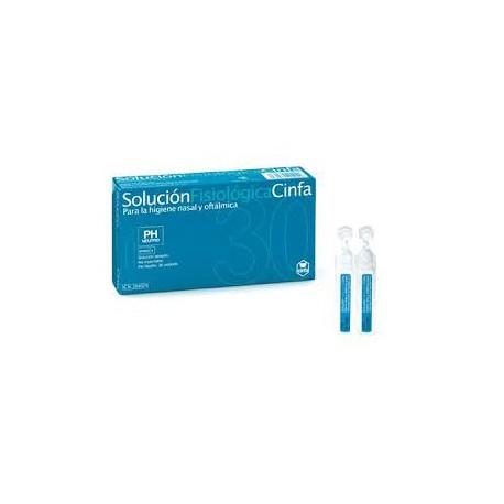 Solución Fisiológica Monodosis Cinfa 30uds